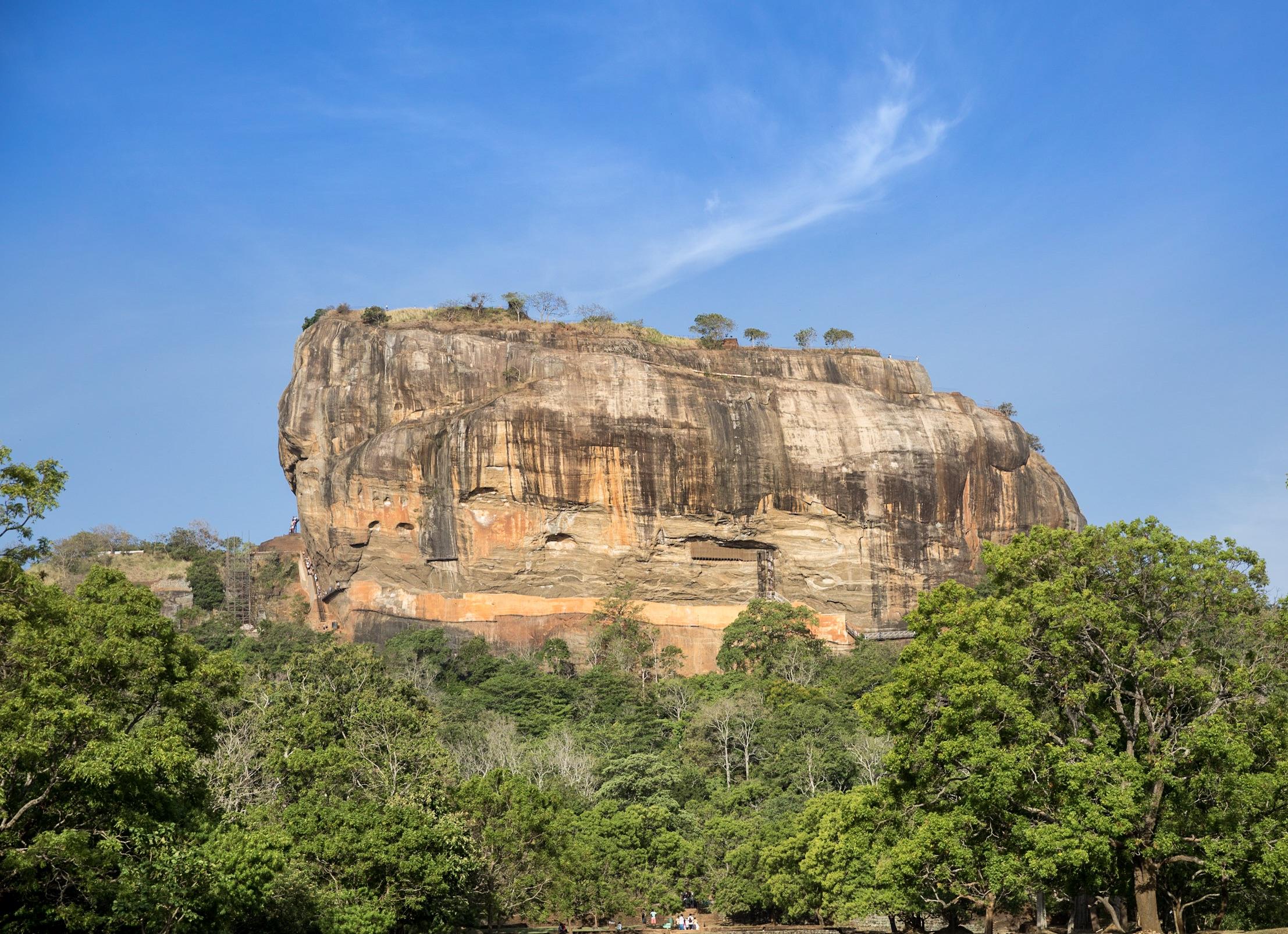 Sigiriya, la roca del León