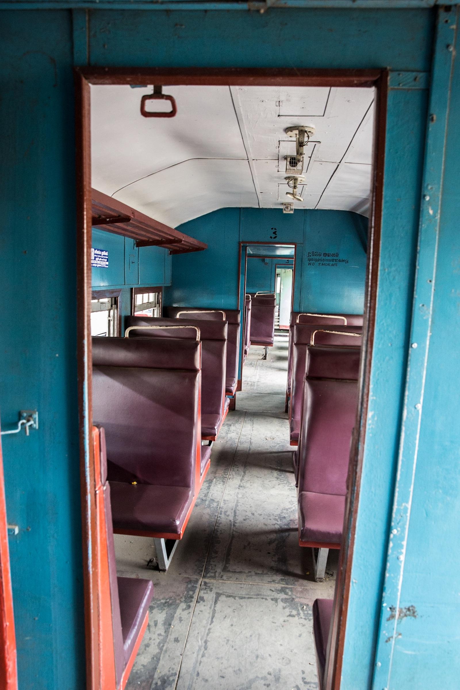 Tren a Nuwara Eliya Sri Lanka