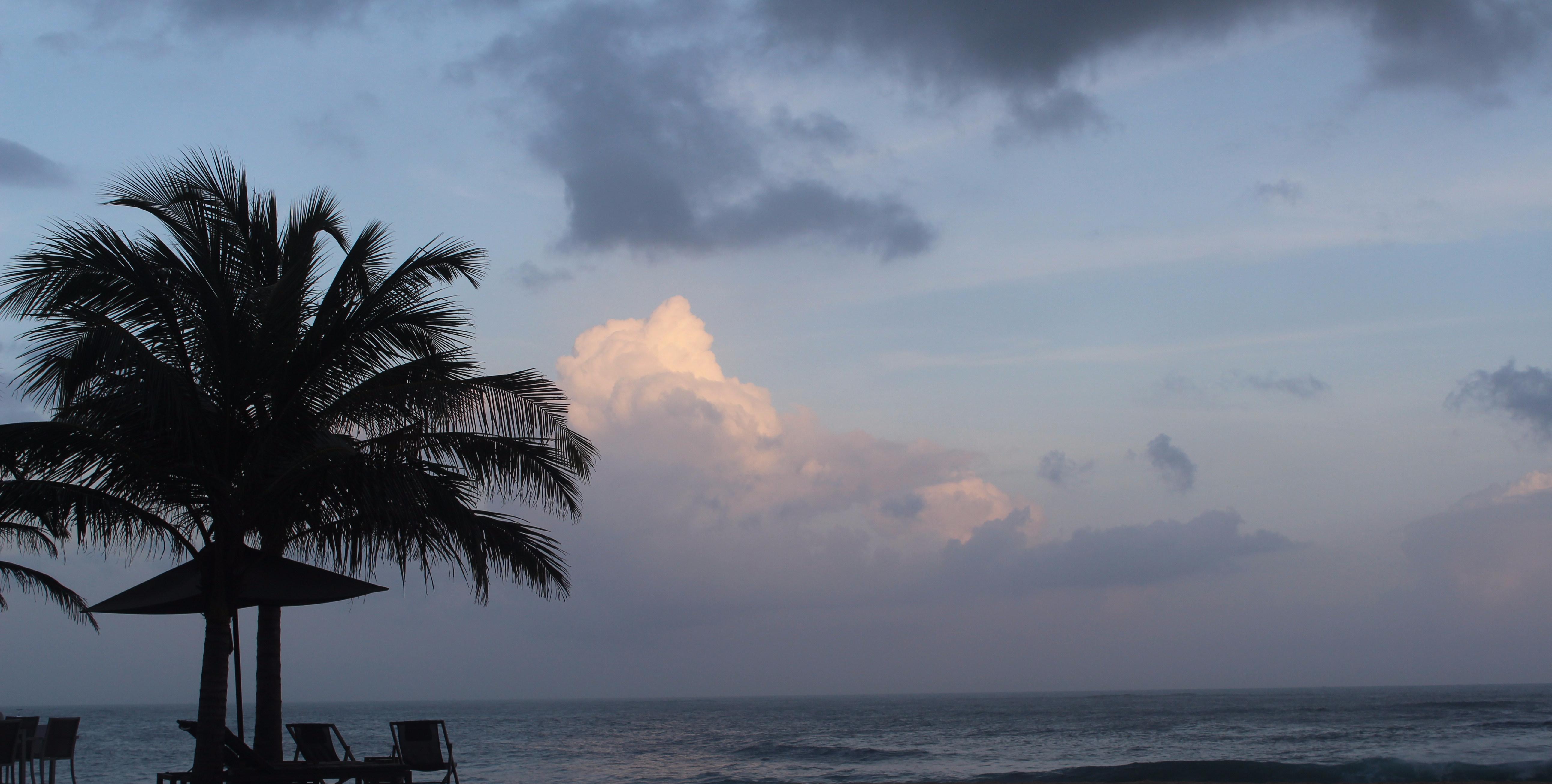 Atardecer en Sri Lanka