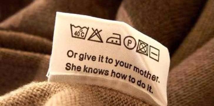Mira siempre la etiqueta