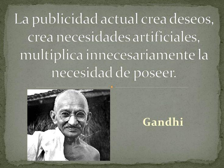 Gandhi y la publicidad